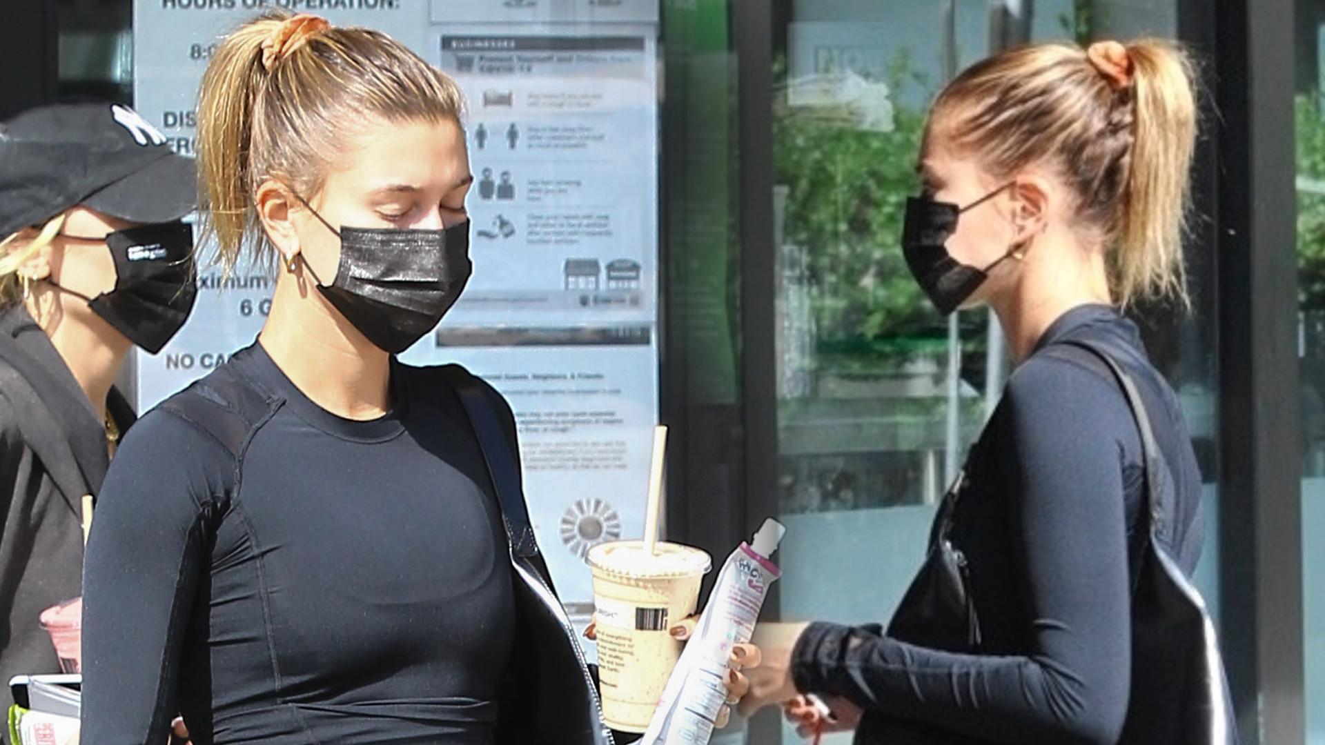 Hailey Bieber jest W CIĄŻY? Najnowsze zdjęcia nie uciszą plotek (FOTO)