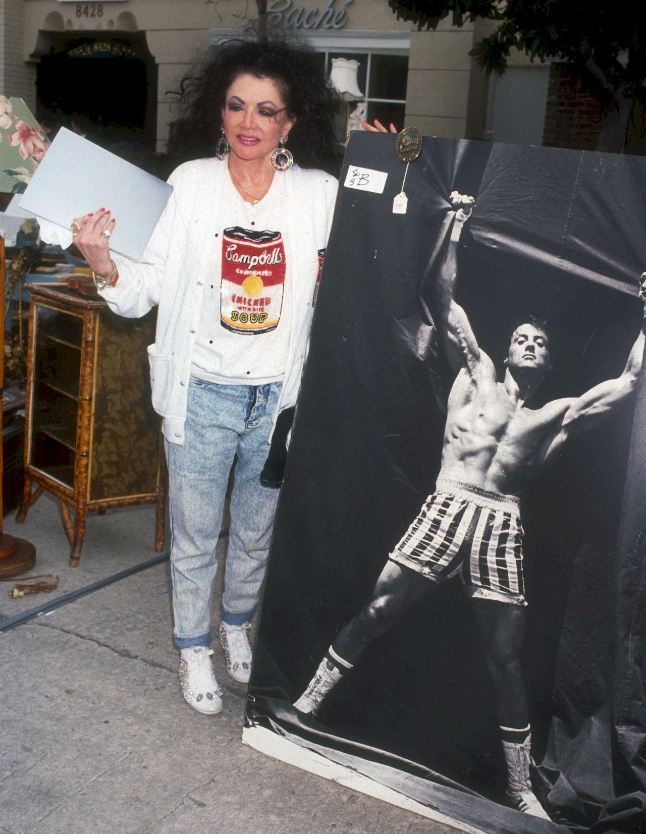 Jackie Stallone w młodości