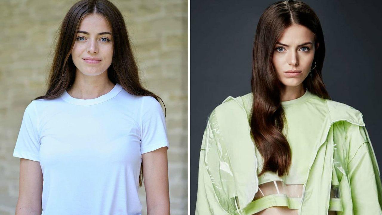 Weronika Kaniewska przed i po metamorfozie
