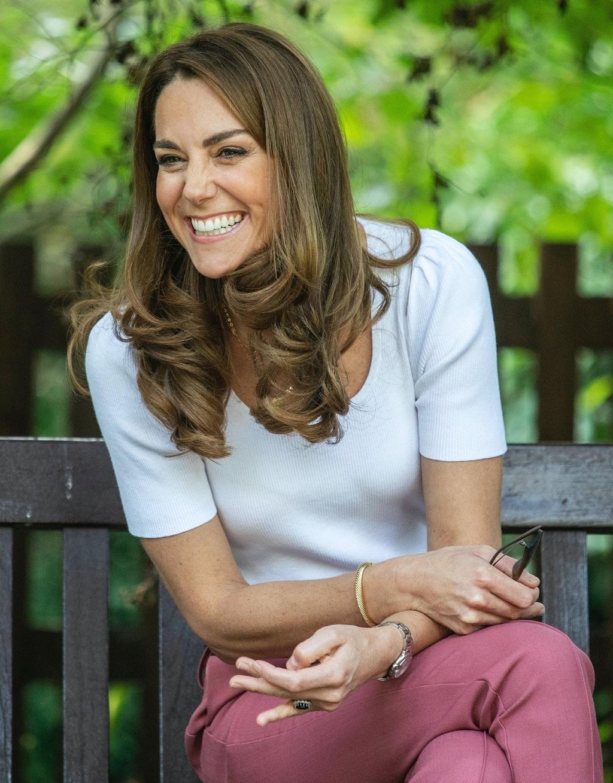 Księżna Kate w doskonałym humorze.