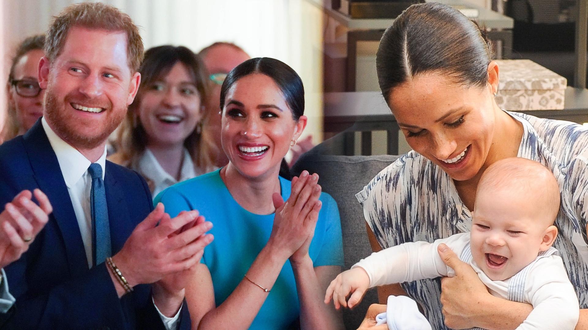 Meghan i Harry pochwalili się podwórkiem wokół swojej posiadłości. Żona księcia w jesiennej stylizacji