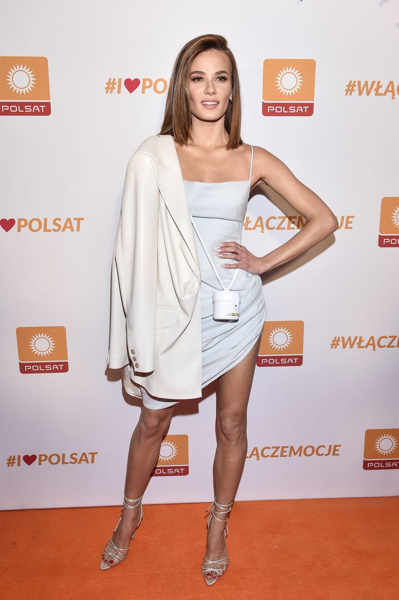 Natalia Szroeder na imprezie Polsatu