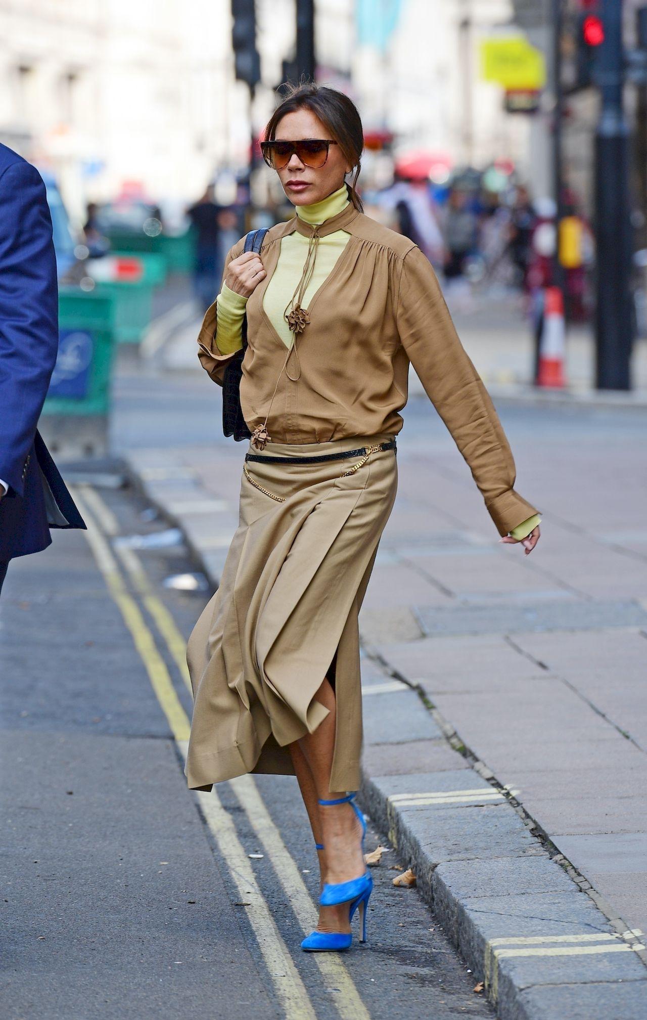 Victoria Beckham na ulicach Londynu