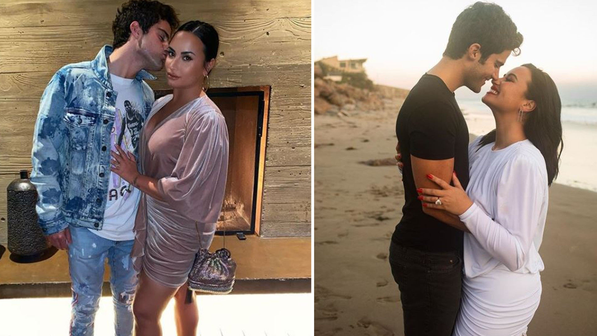 SZOK! Demi Lovato i Max Ehrich ROZSTALI się dwa miesiące po zaręczynach