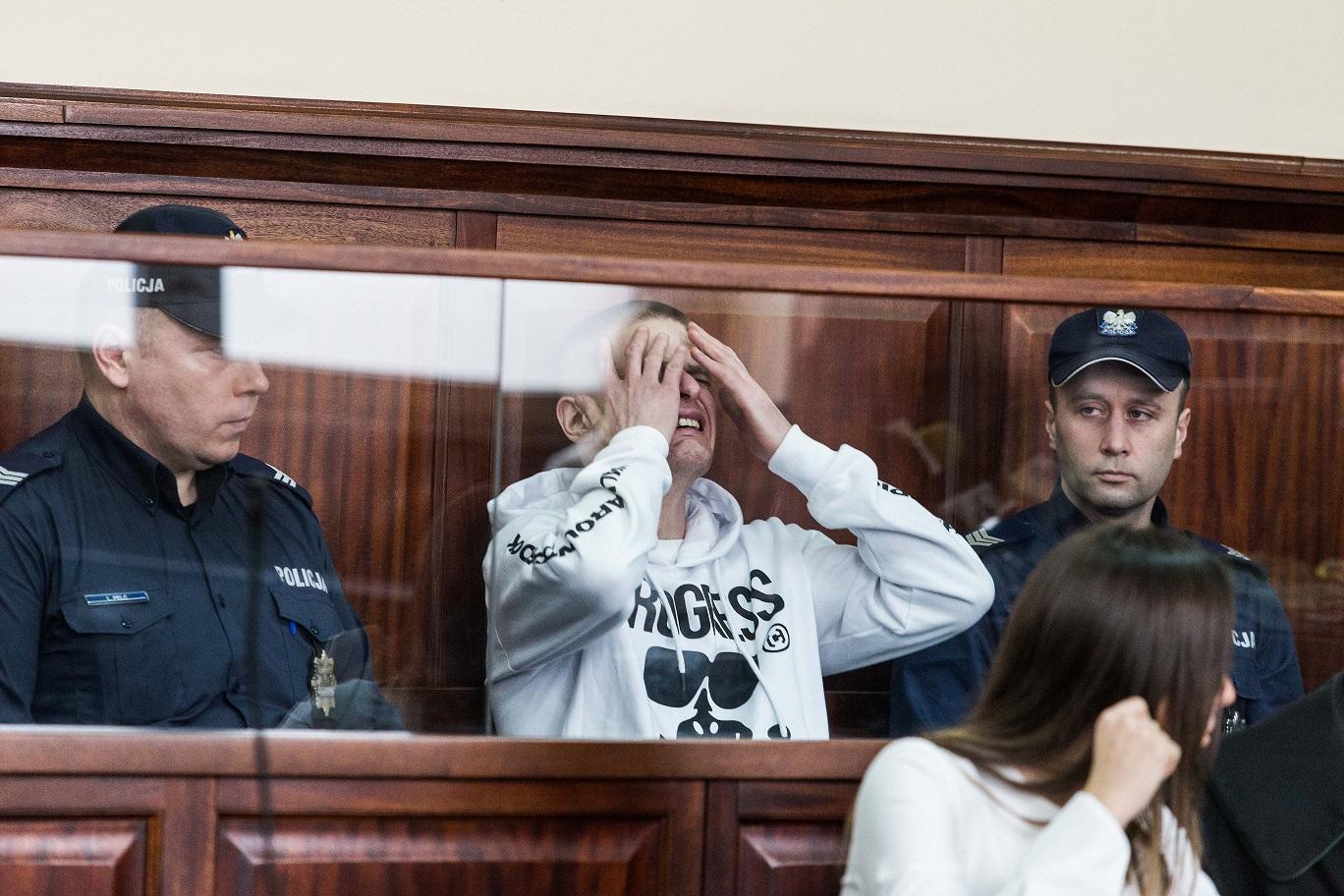 Tomasz Komenda w sądzie we Wrocławiu