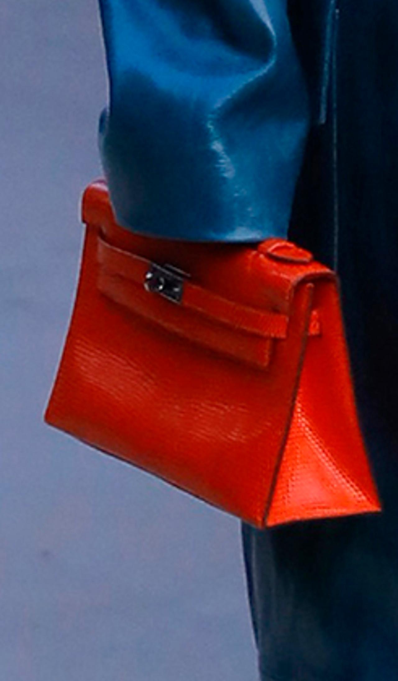 Kim Kardashian z torebką Hermes.