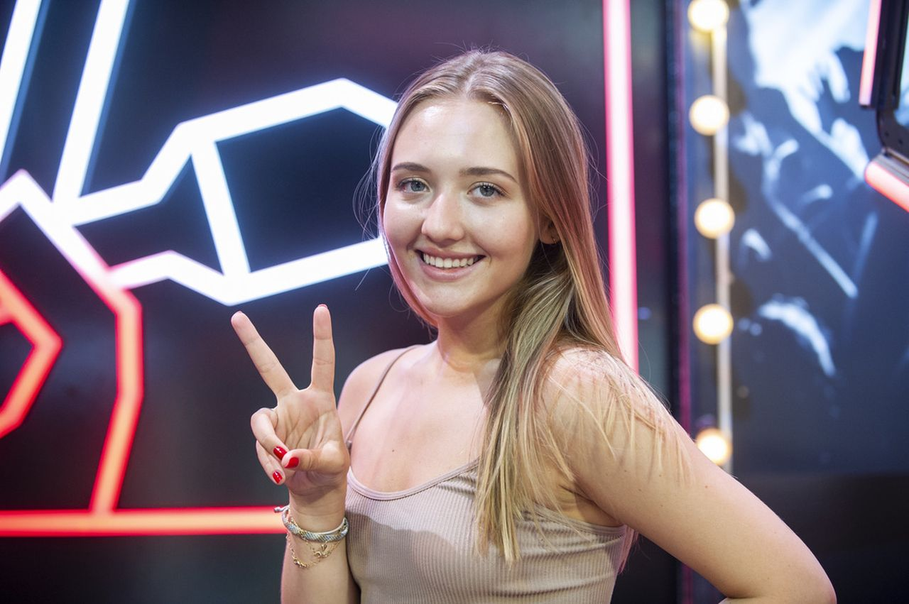 "Karolina Matej w ""The Voice of Poland"""
