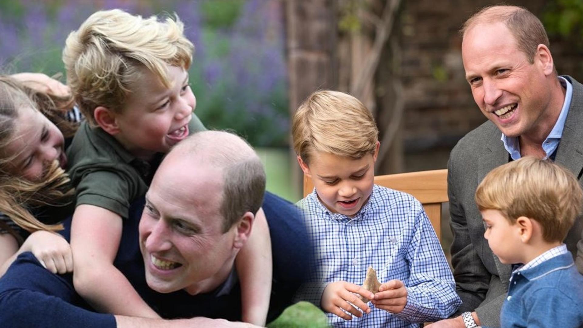 Książęca para Cambridge na nowej fotografii z dziećmi. Przez pandemię tak rzadko ich widzimy…
