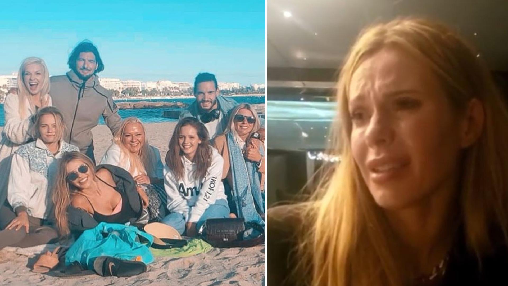 """Płacząca Doda przeżywa zakończenie zdjęć do filmu """"Dziewczyny z Dubaju"""": """"Po co mi to było"""""""