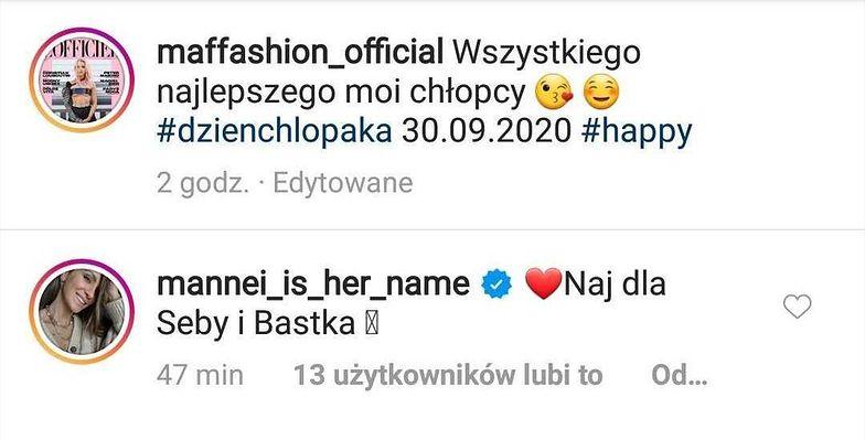Imię dziecka Maffashion, fot. Instagram