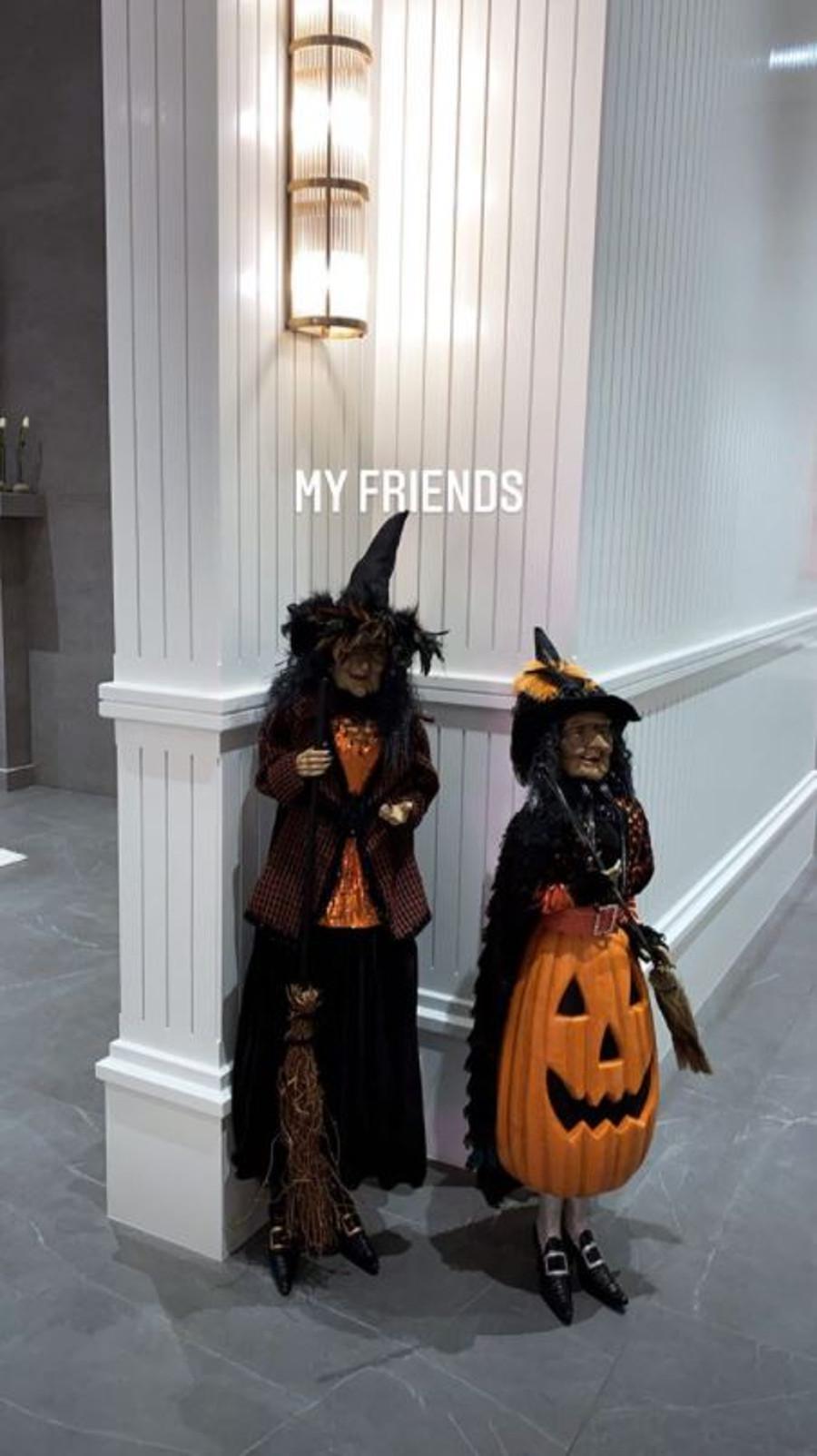 Kylie Jenner pokazała dekoracje na Halloween.