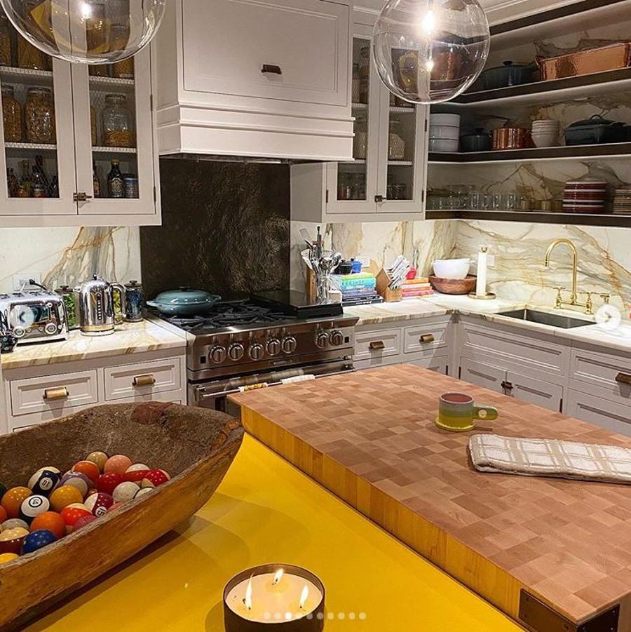 Kuchnia Gigi Hadid.