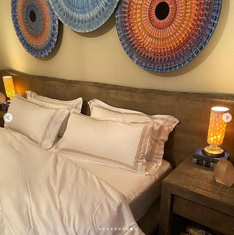 Sypialnia Gigi Hadid.