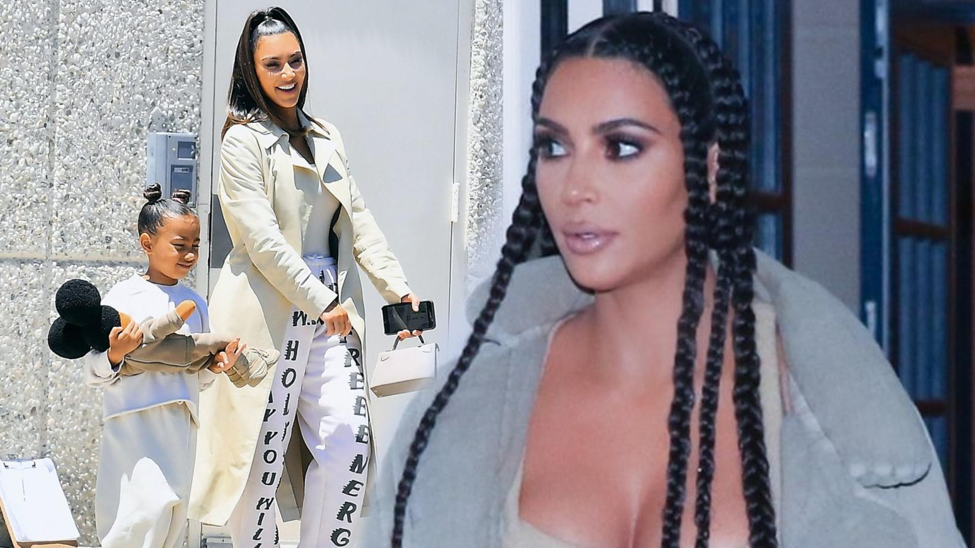 Kim Kardashian zażegnała małżeński KRYZYS. Pochwaliła się uroczą fotografią z mężem i dziećmi
