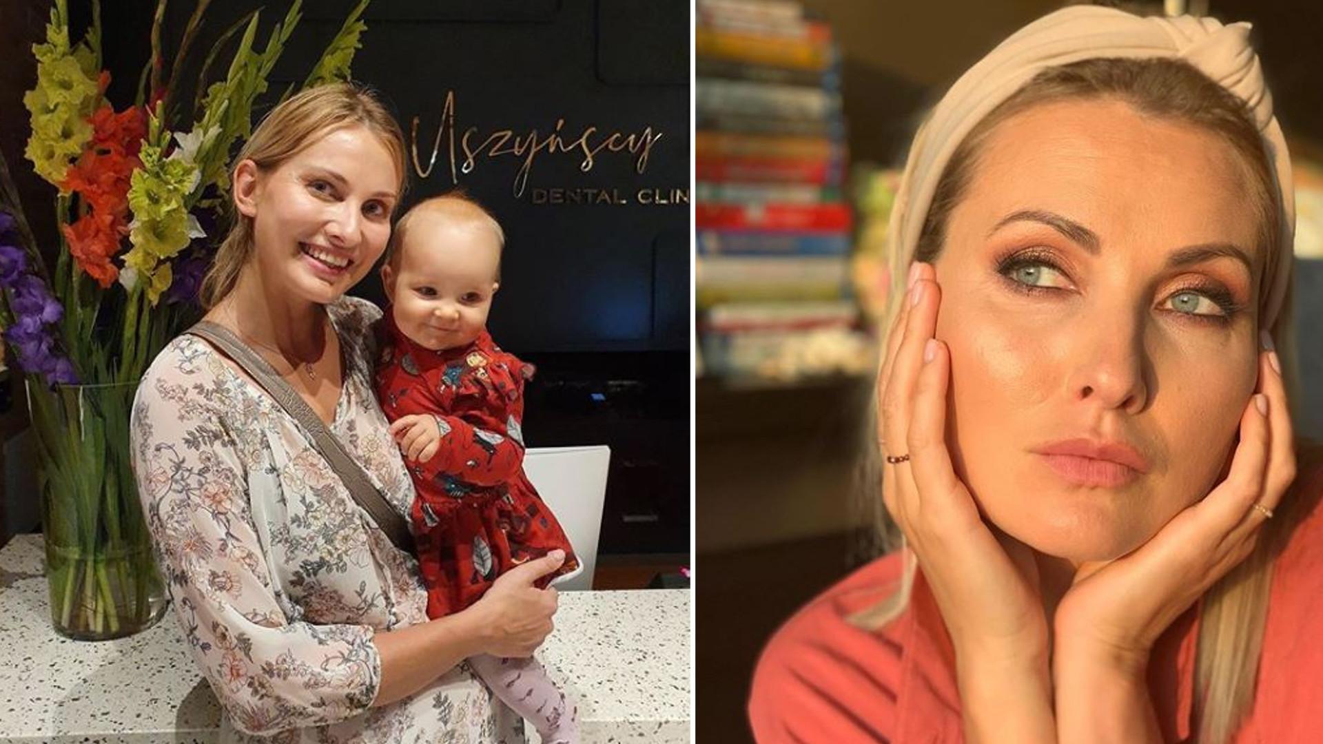 """Joanna Moro w NAGIEJ sesji zdjęciowej z córką: """"Jak można występować z dzieckiem w ten sposób"""""""