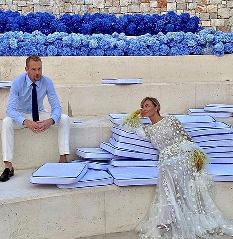 Joanna Przetakiewicz i Rinke Rooyens w sesji ślubnej