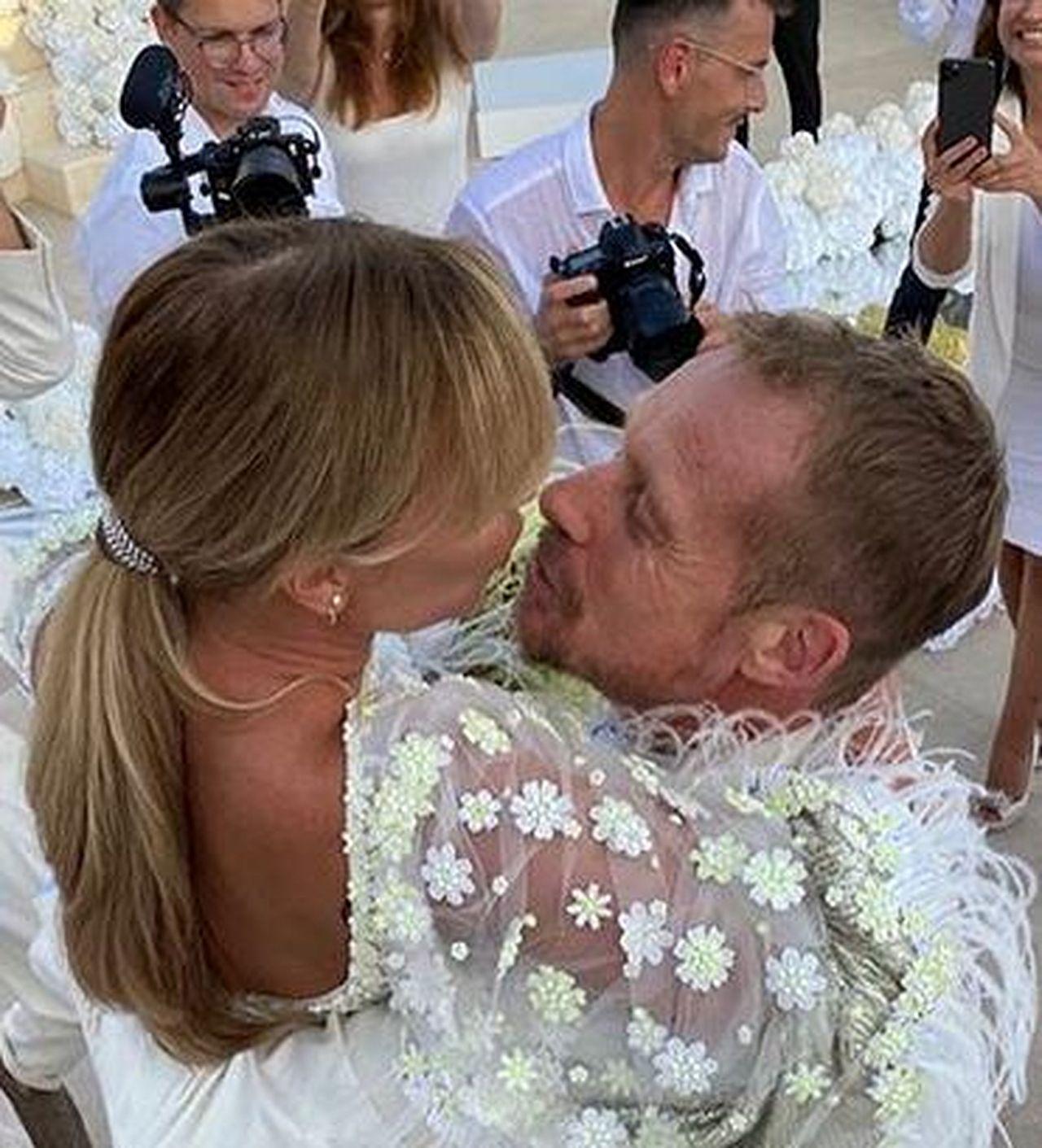 Joanna Przetakiewicz i Rinke Rooyens wzięli ślub