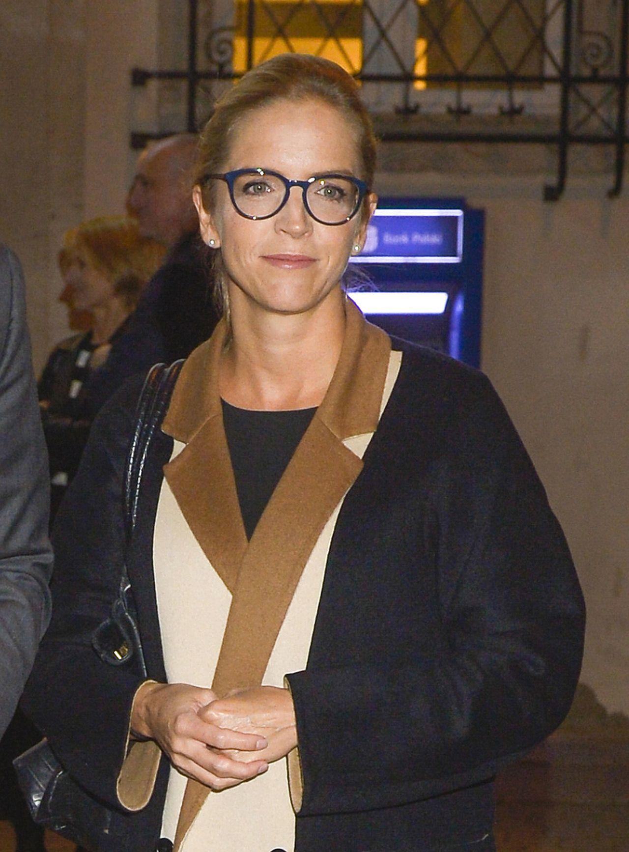 Małgorzata Trzaskowska na premierze spektaklu