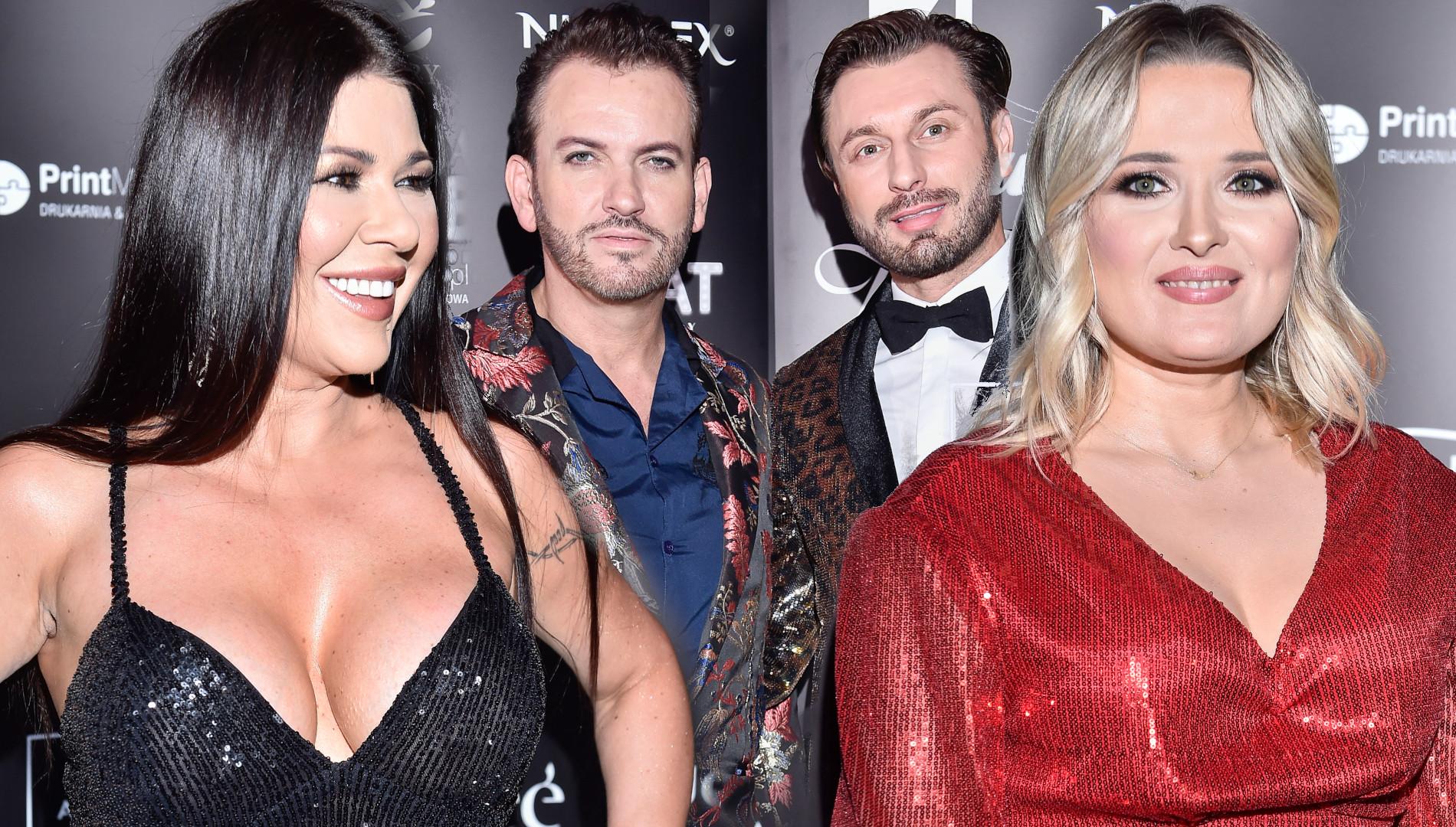 Cekinowe gwiazdy na gali Miss Warszawy: Andrzejewicz, Węgrowska i Królowie Życia