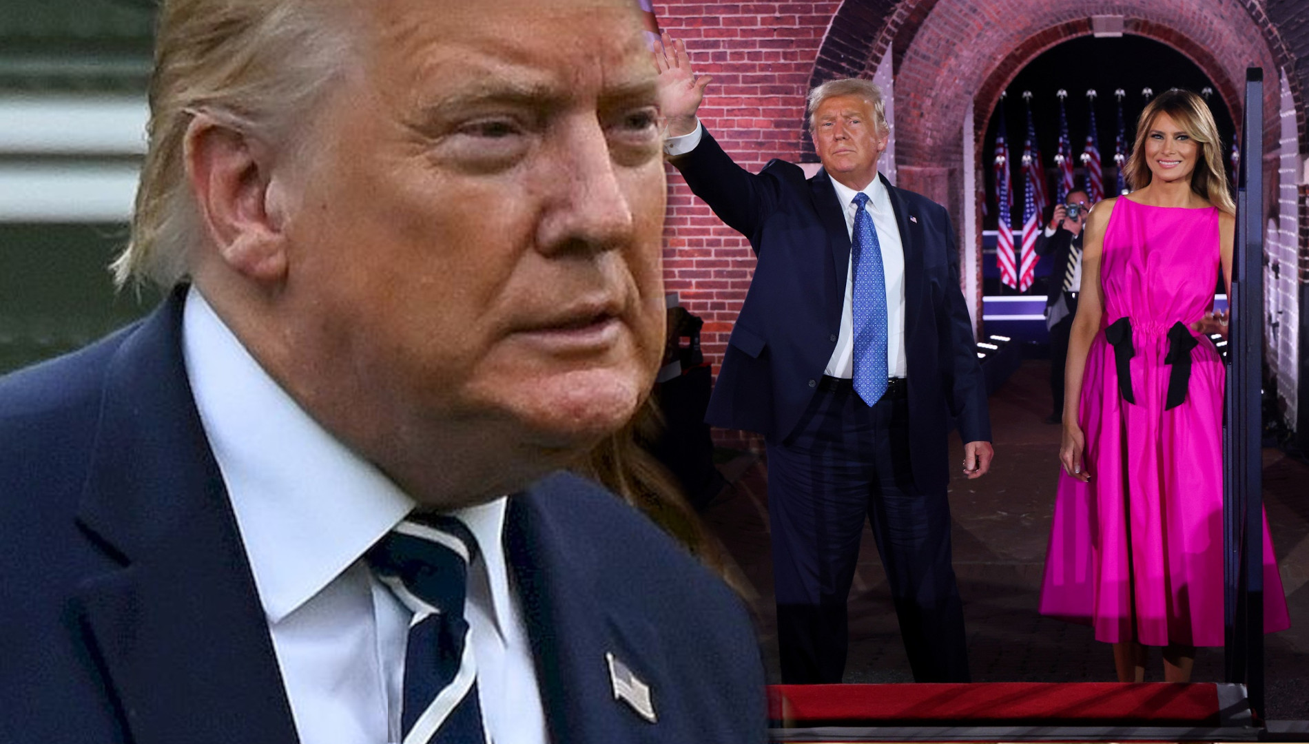 """Butny Donald Trump OPUSCIŁ szpital. """"NIE bójcie się koronawirusa"""""""