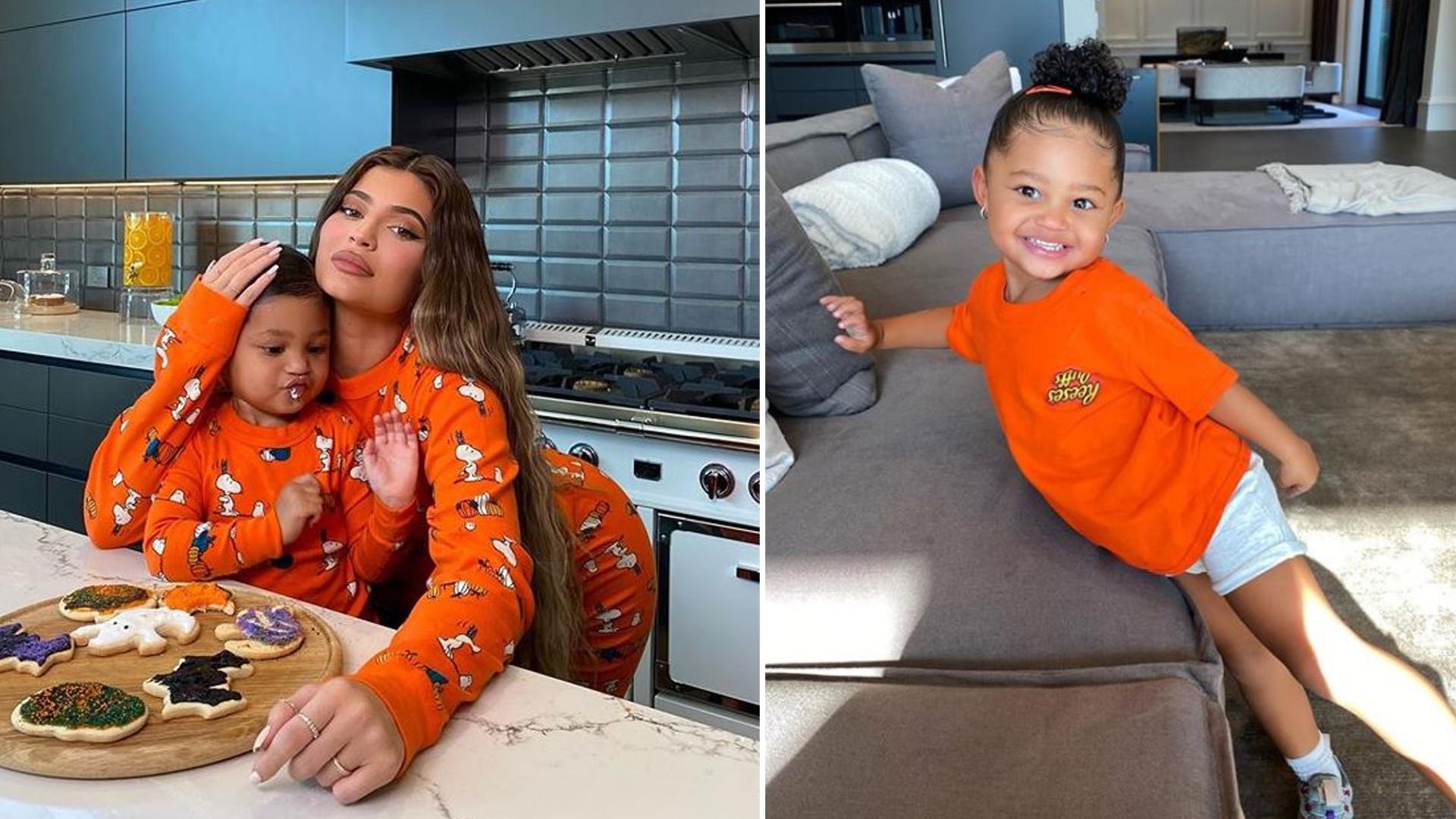 Kylie Jenner piecze ciastka z córką. Fani są zachwyceni zachowaniem małej Stormi