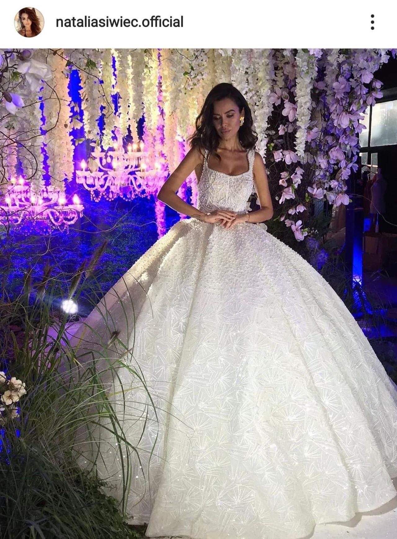 Natalia Siwiec w bajecznej sukni ślubnej