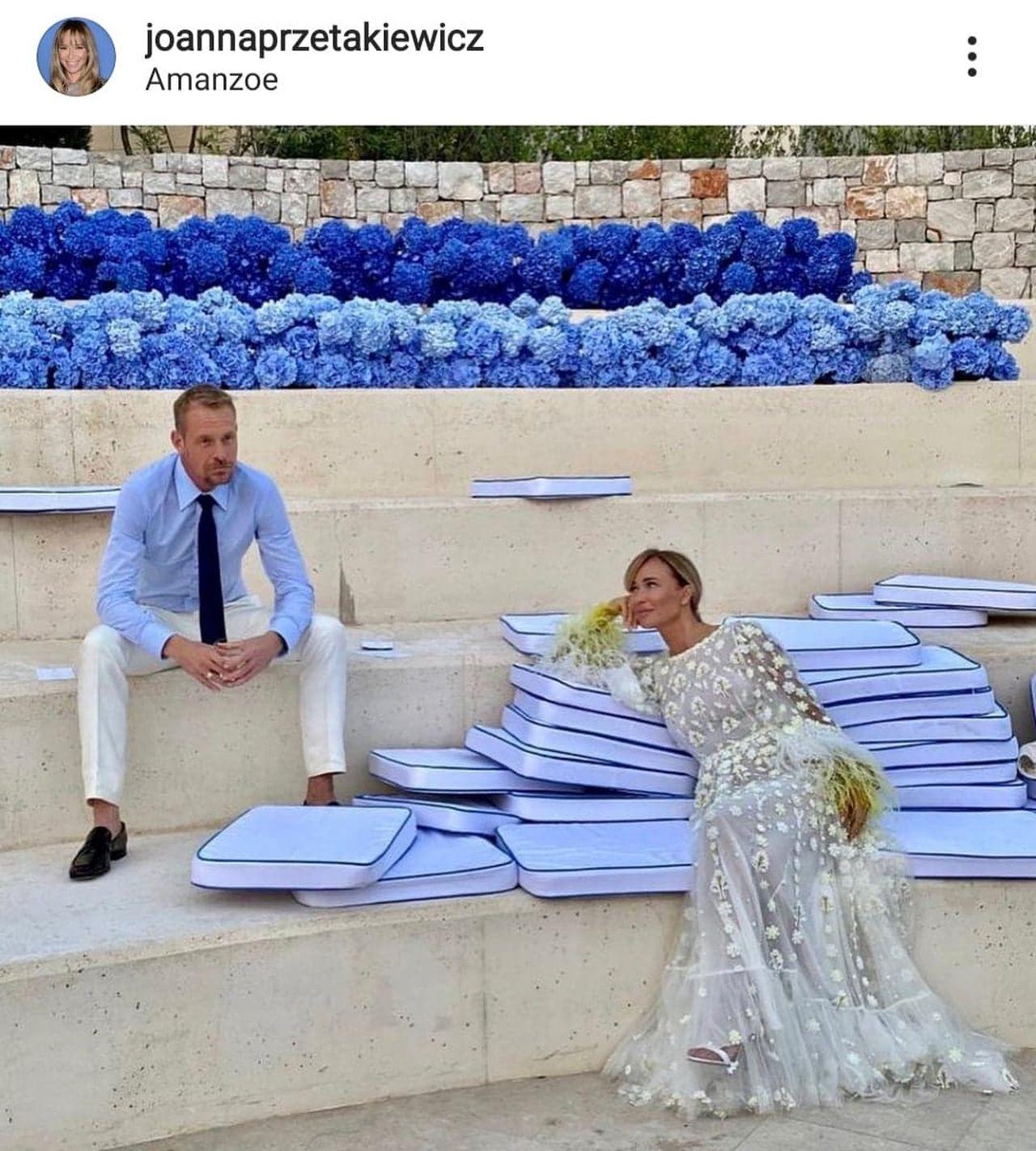 Joanna Przetakiewicz i Rinke Rooyens po ślubie
