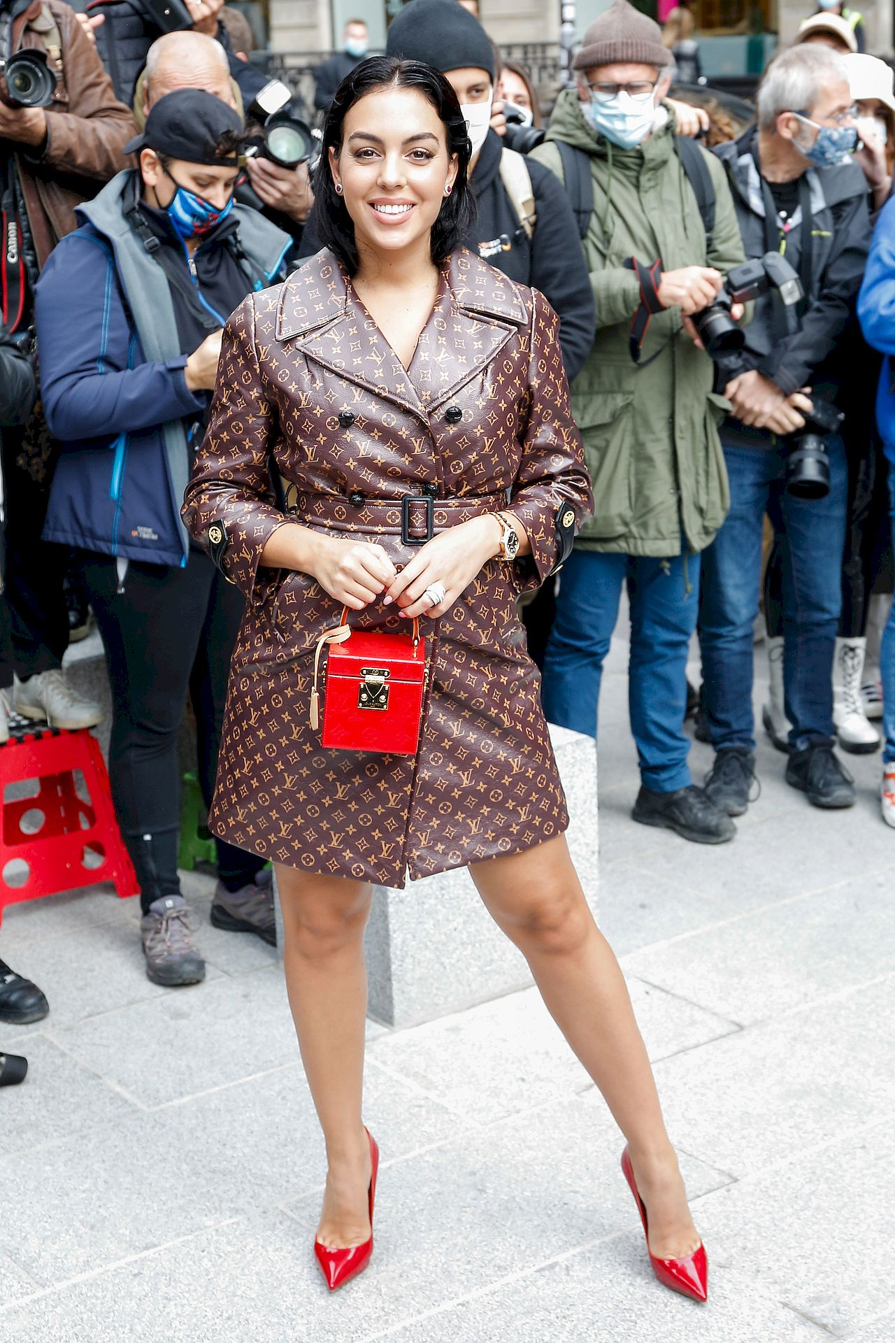 Georgina Rodriguez na Fashion Weeku