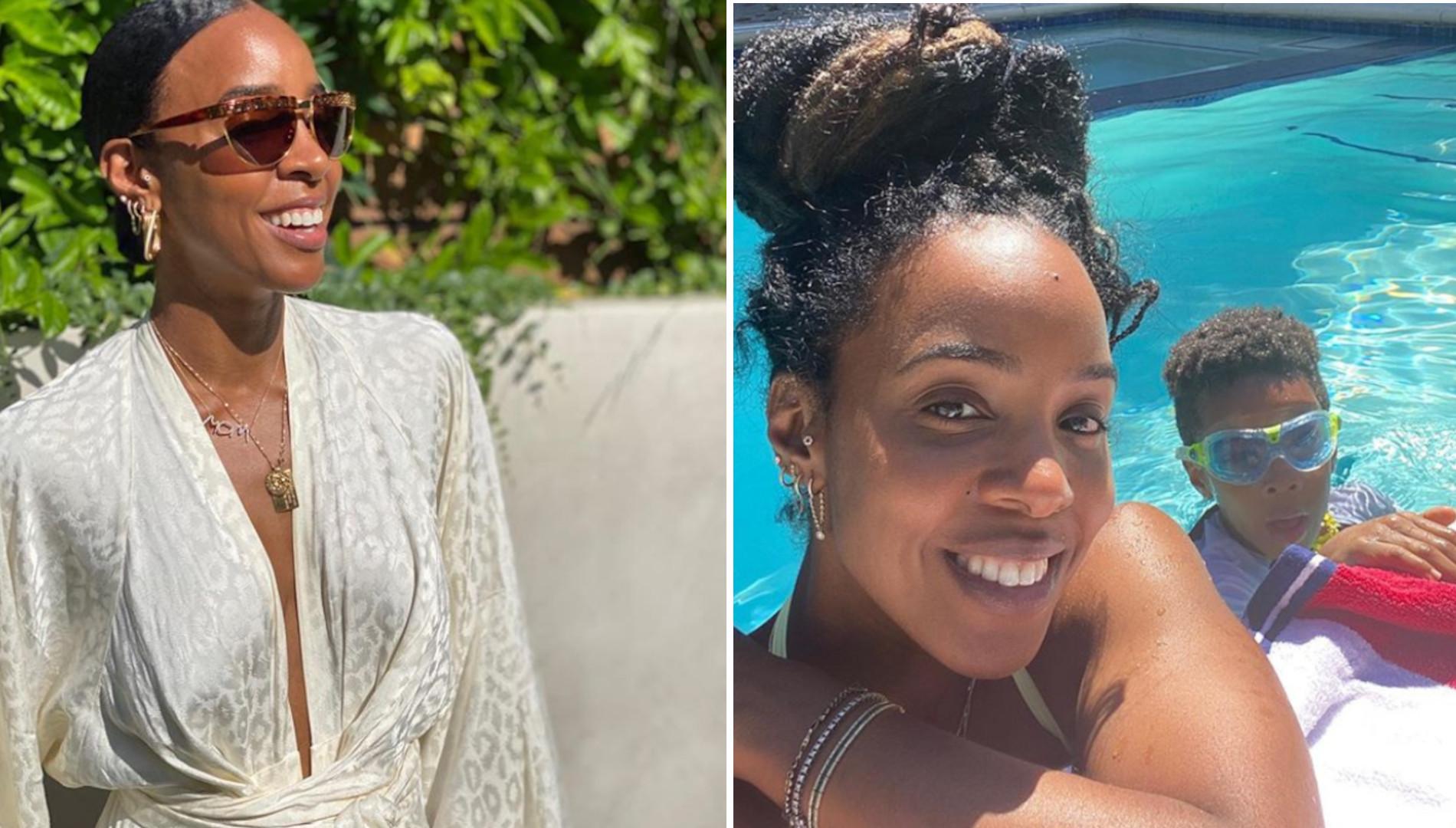 Kelly Rowland w ciąży! Pokazała nagi brzuszek