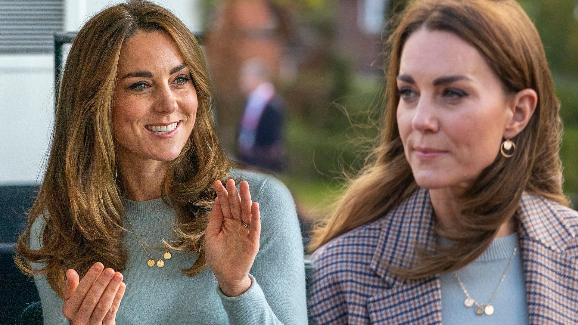 Księżna Kate na spotkaniu ze studentami. Wyglądała dość SKROMNIE