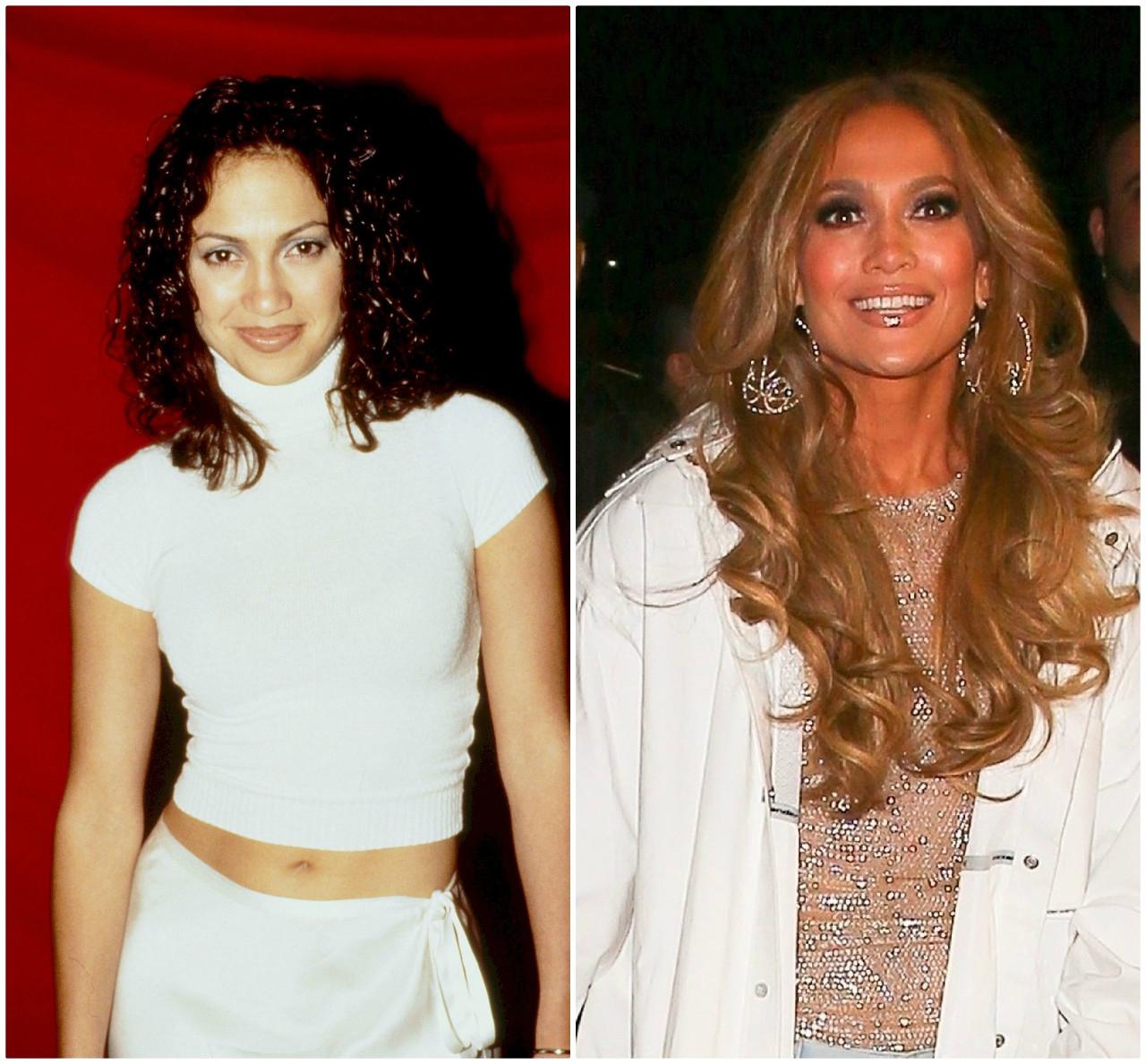 Jennifer Lopez kiedyś i dziś. Tak się zmieniła.