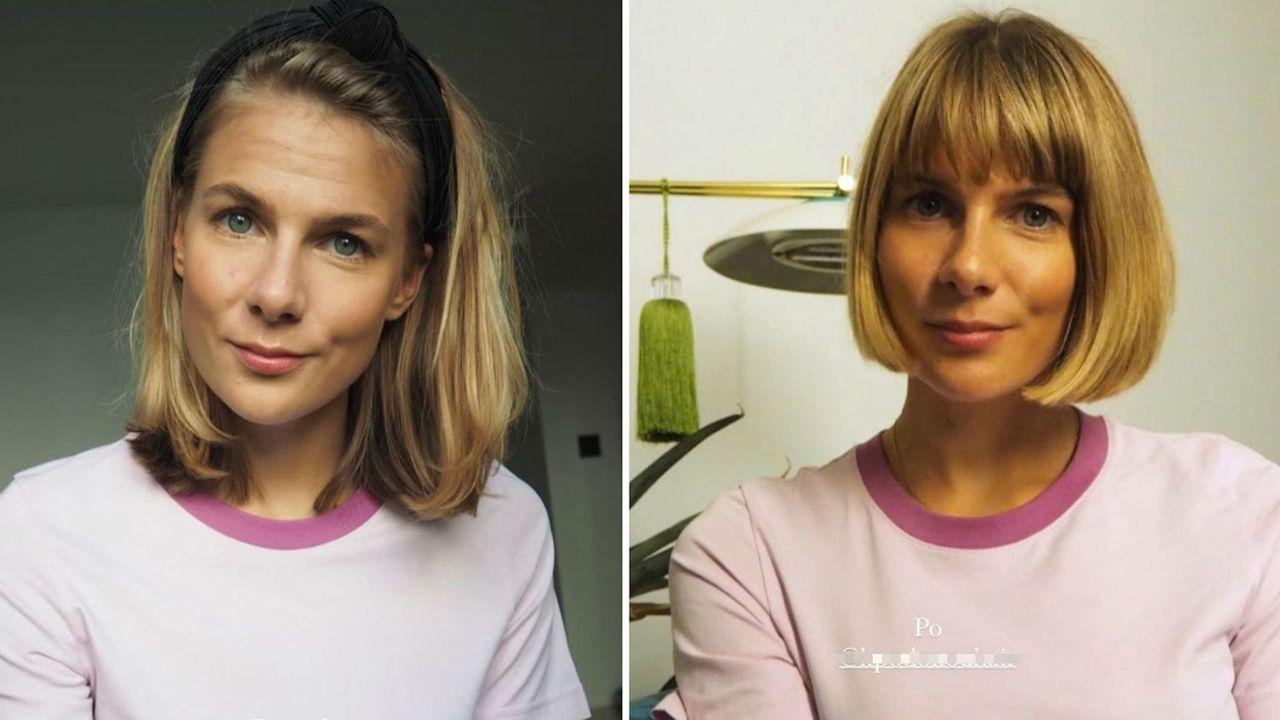 Marta Wierzbicka przed i po metamorfozie