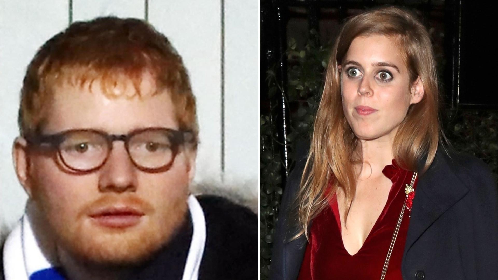 """Menadżer Eda Sheerana o księżniczce Beatrice: """"Prosisz się o kłopoty"""""""