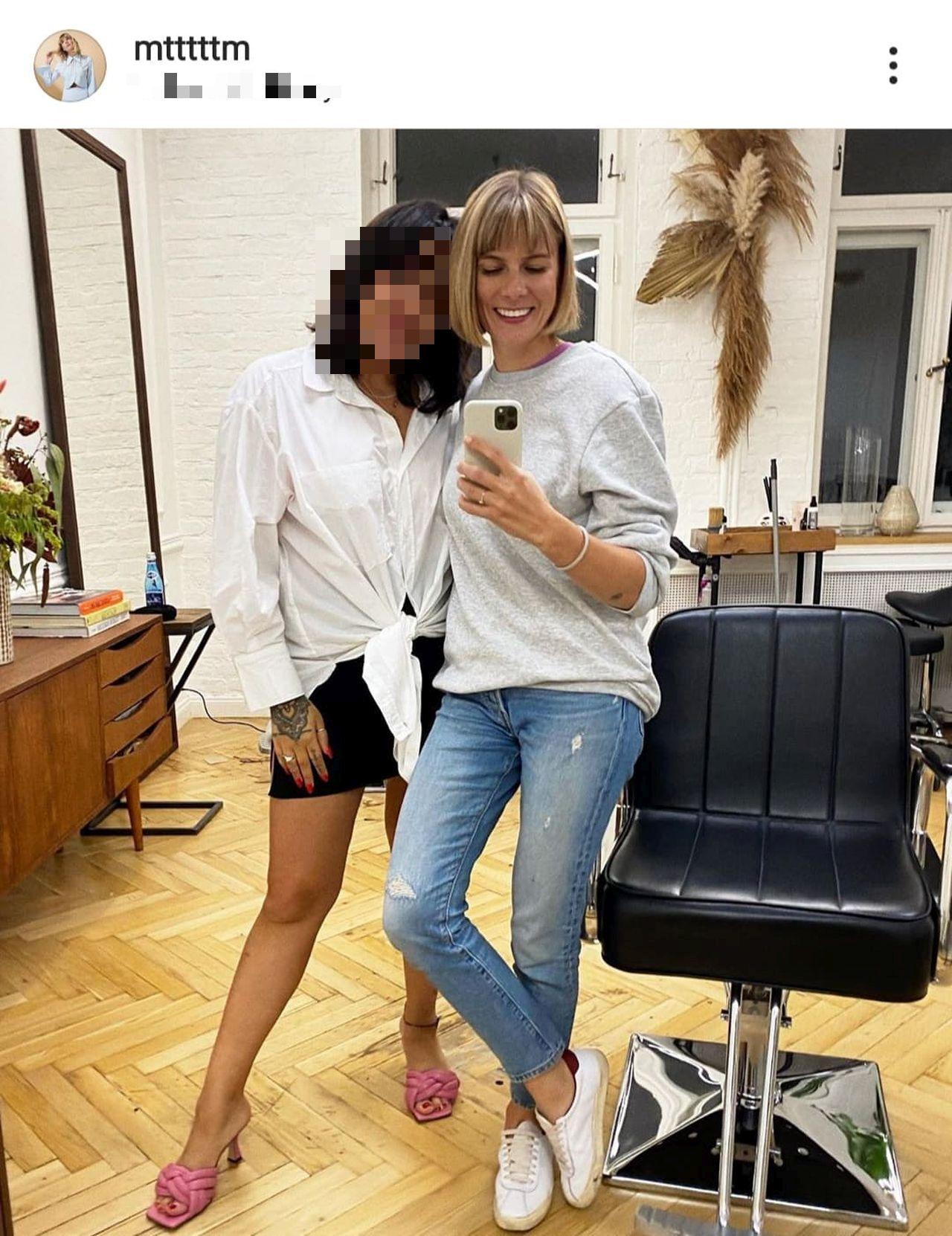 Marta Wierzbicka u fryzjera