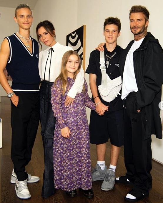 Rodzina Beckhamów