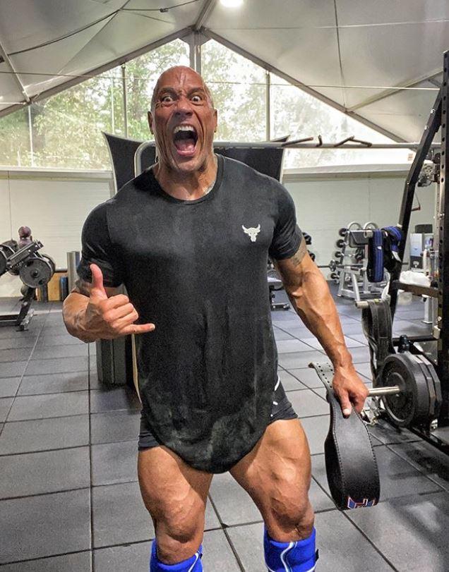 Dwayne The Rock, fot. Instagram @therock