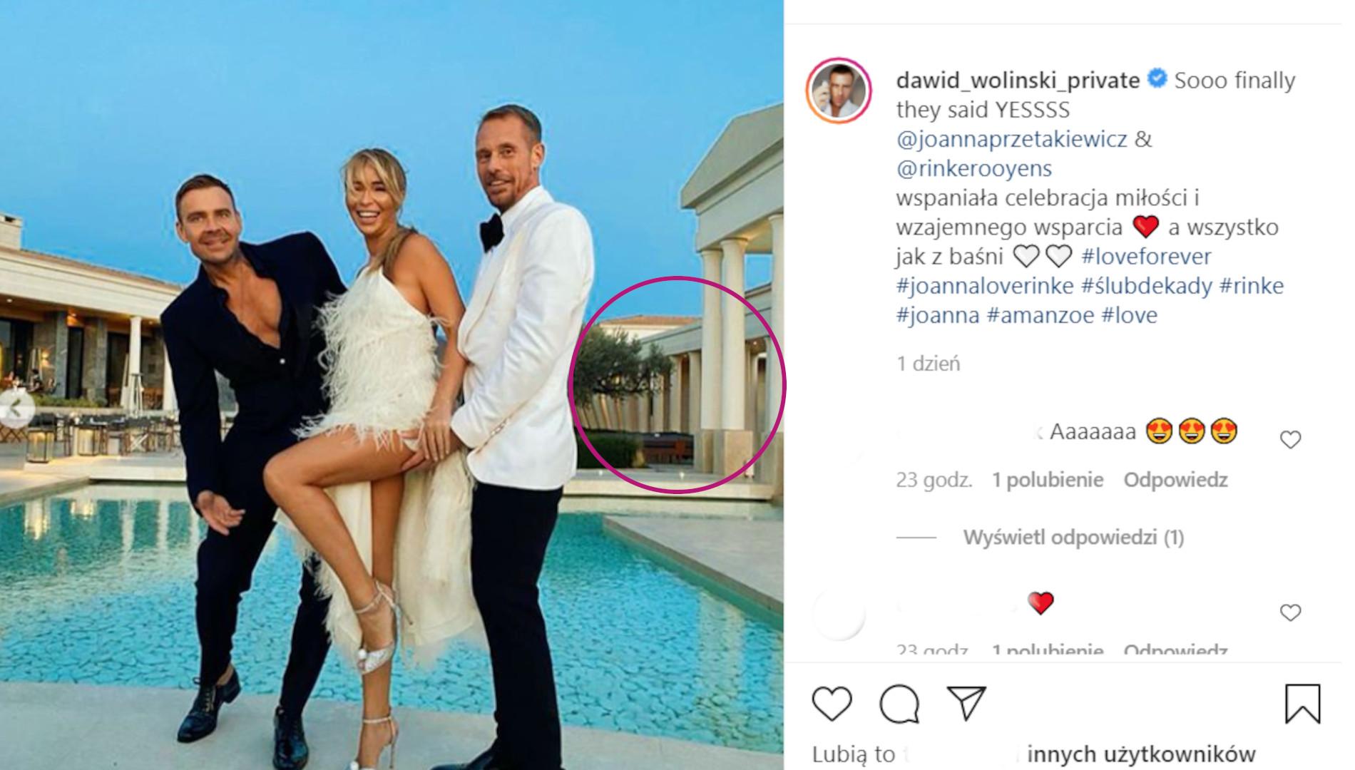 Dawid Woliński retuszuje zdjęcia, for. Instagram