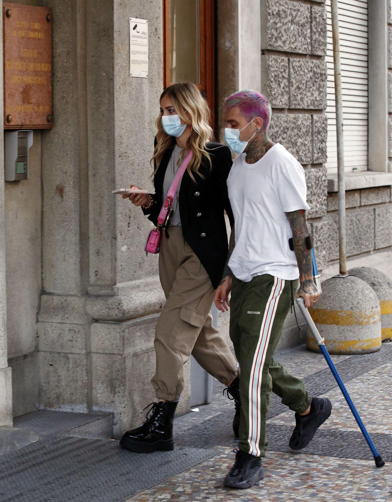 Chiara Ferragni idzie do szpitala
