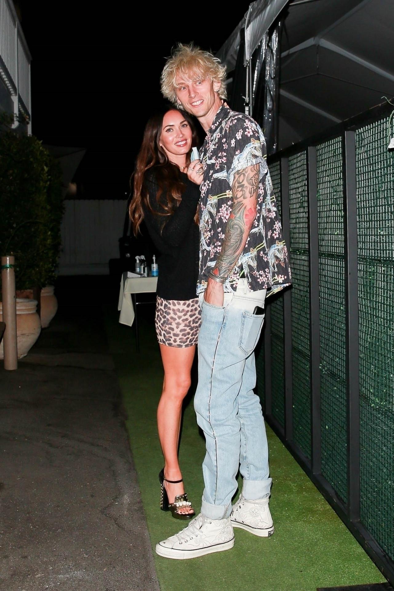 Megan Fox w drapieżnej stylizacji, fot. Forum