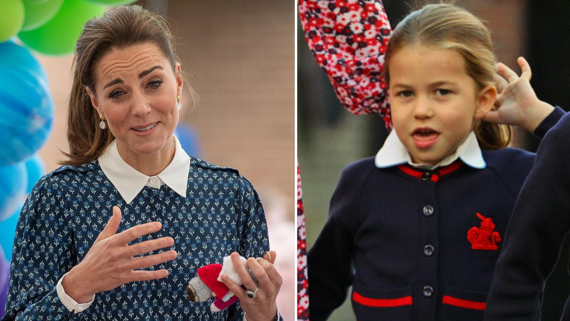 Księżna Kate jest w 4 ciąży? Księżniczka Charlotte się WYGADAŁA