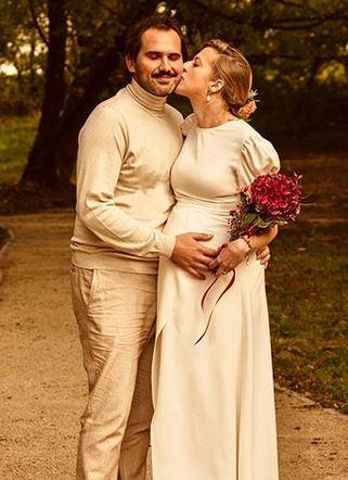 Lara Gessler wzięła ślub