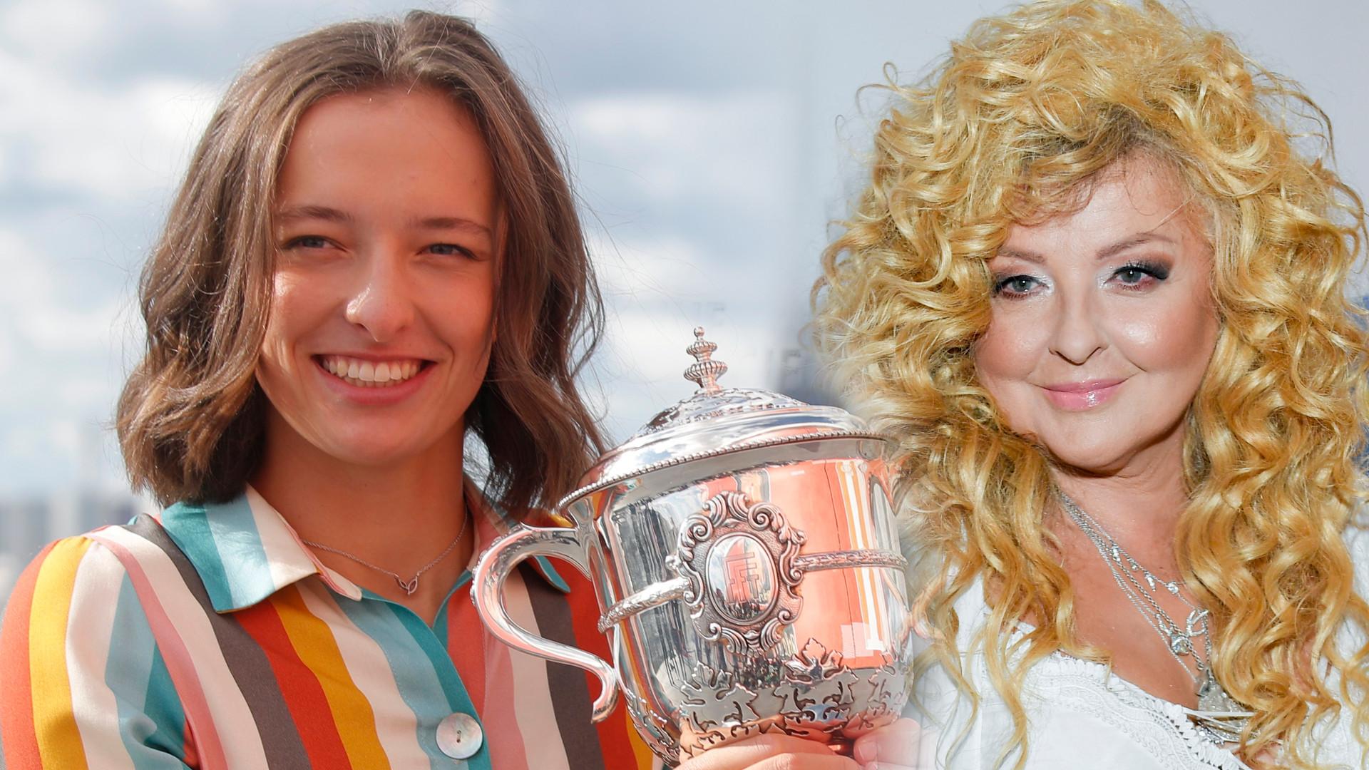 Magda Gessler pogratulowała Idze Świątek. Odpowiedź tenisistki ZASKAKUJE!