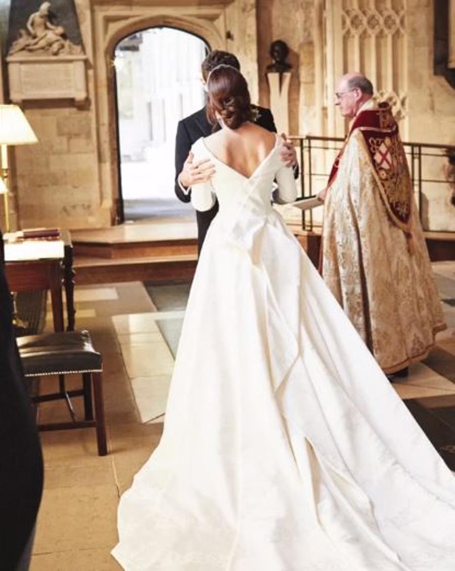 Księżniczka Eugenia w dniu ślubu.