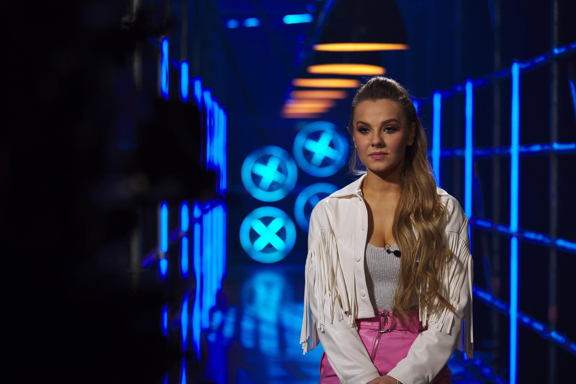 Dagmara Czechura w The four, fot. Polsat / Krystian Szczęsny