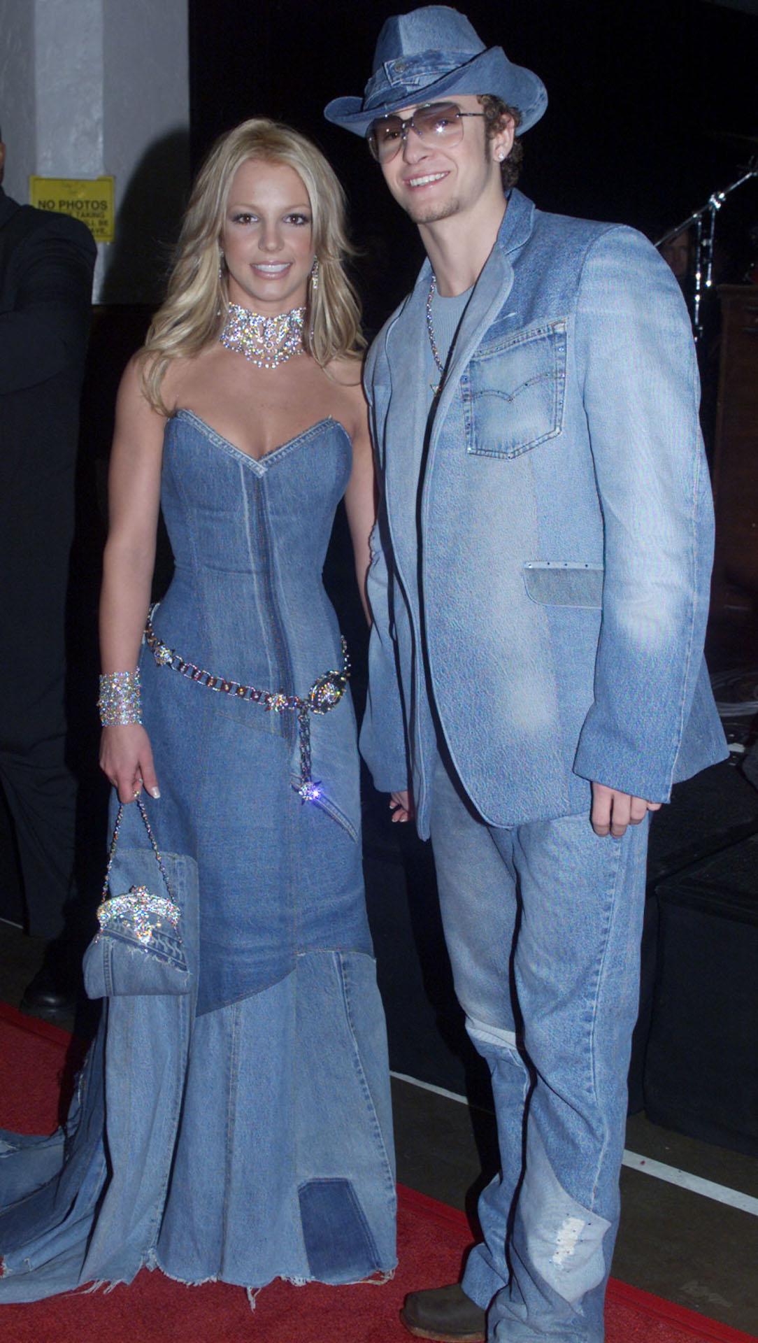 Britney Spears i Justin Timberlake w 2001 roku