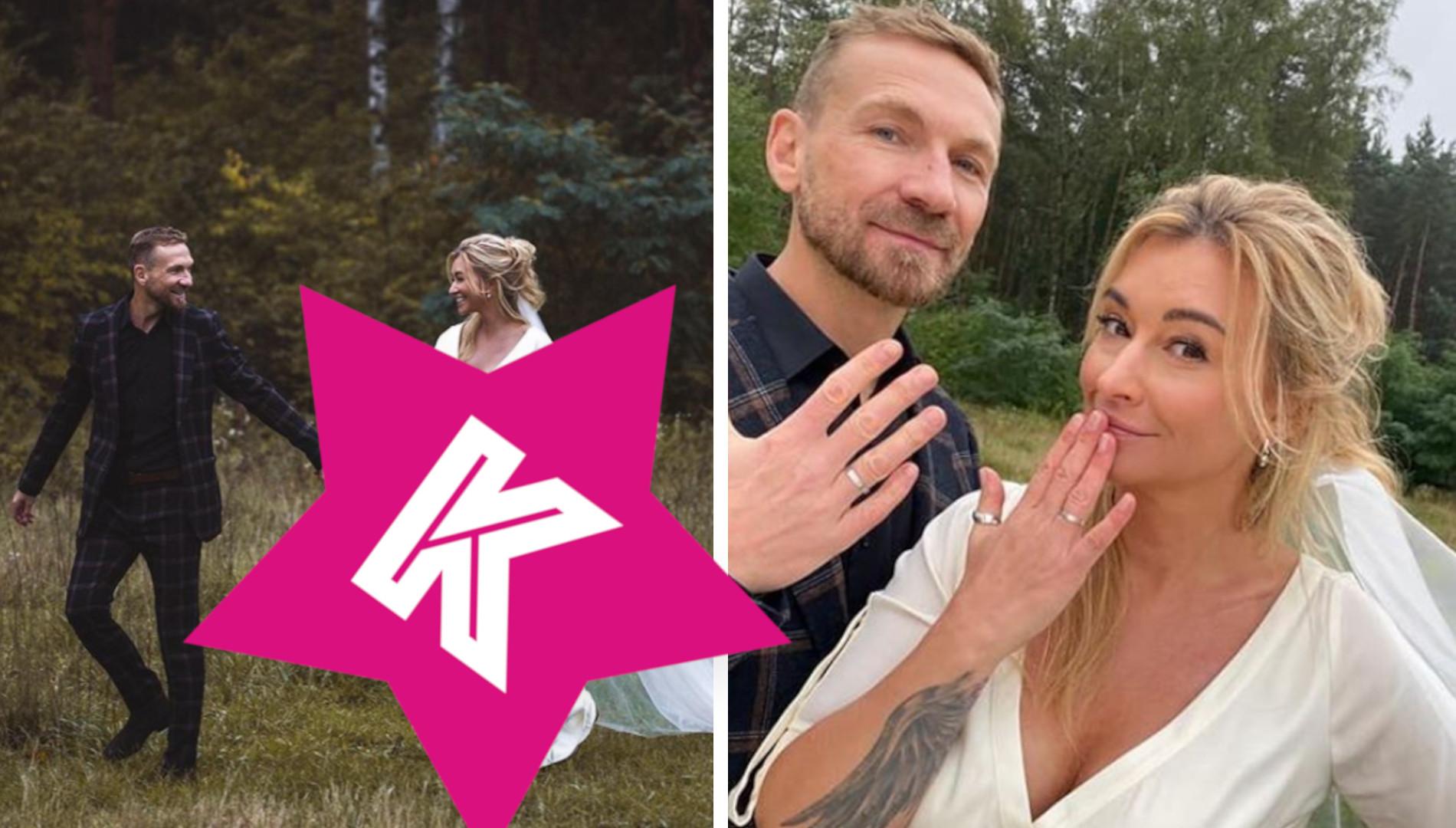 Martyna Wojciechowska pokazała SUKNIĘ ŚLUBNĄ. Założyła do ślubu KOSZULĘ!