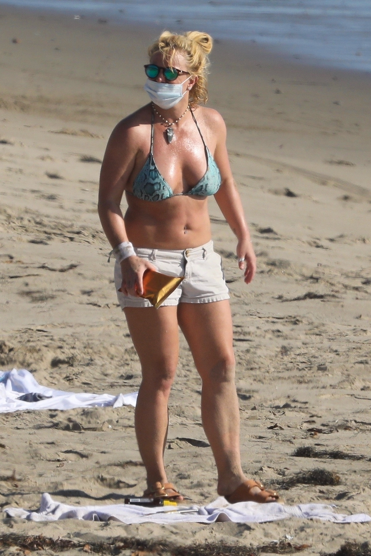 Britney Spears w Malibu