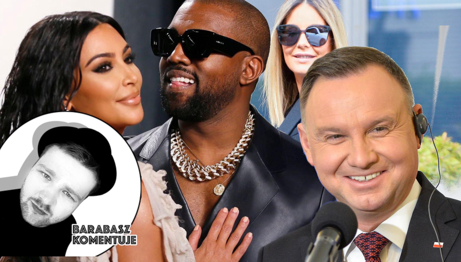 BARABASZ KOMENTUJE: Dlaczego Kanye West powinien być prezydentem Polski?  (FELIETON)