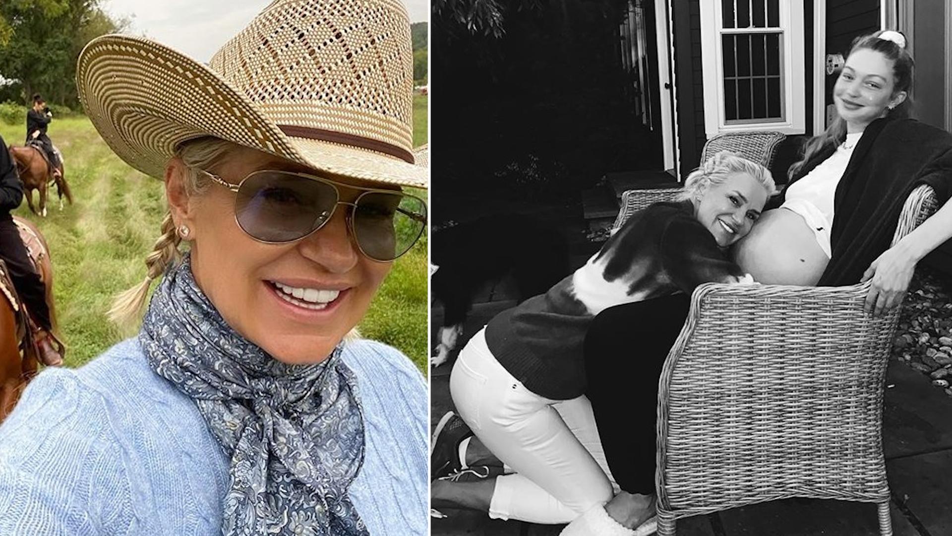 Yolanda Hadid dodała zdjęcie z córeczką Gigi Hadid!