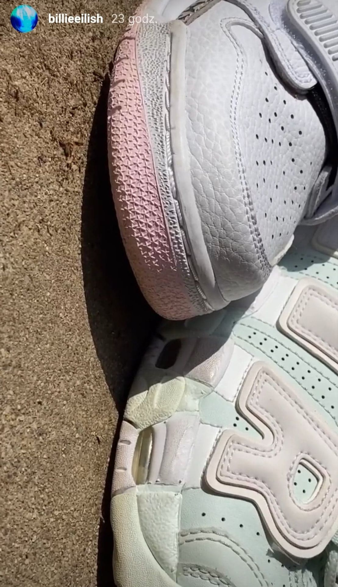 Jaki kolor mają buty Billie Eilish
